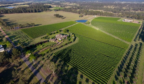 The Iron Gate Estate in Pokolbin - Hunter Valley Trophy Listing