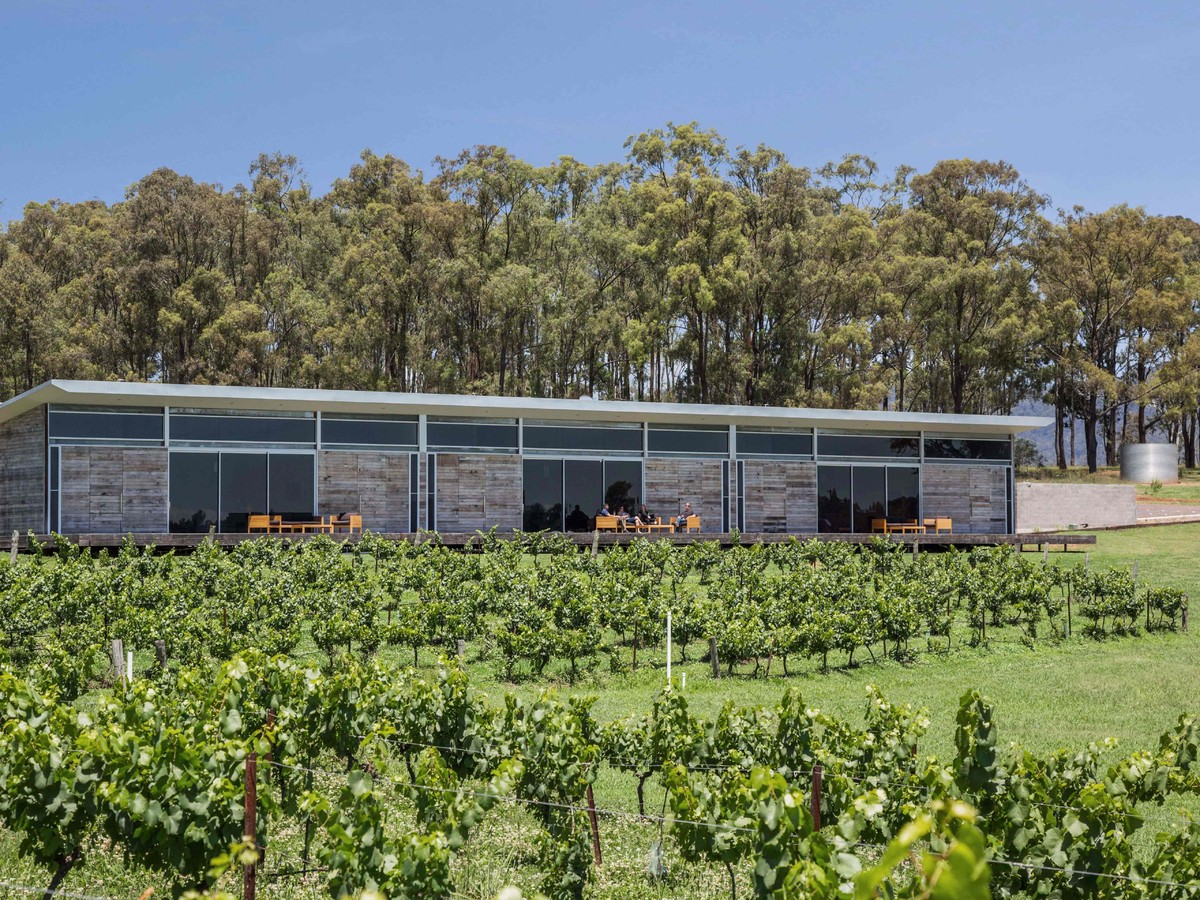 The Longhouse at Pokolbin - one of the high-end wineries currently on the market