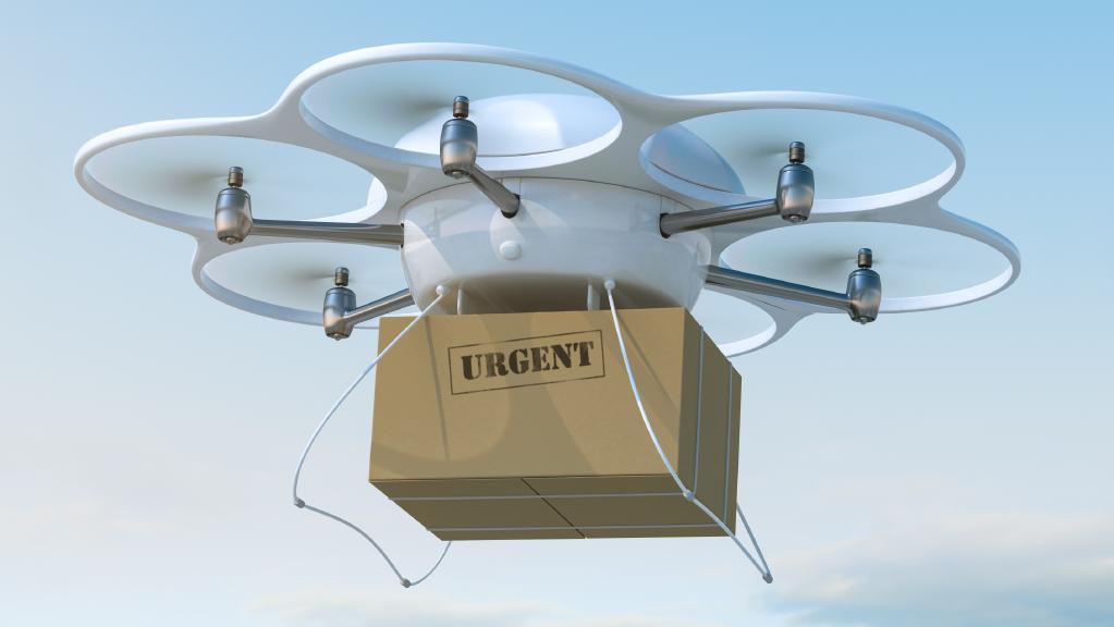 Future housing estates: drone landing pads