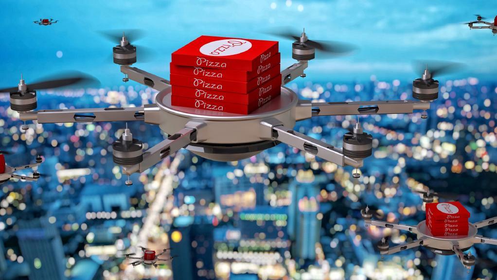 Future housing estates: drone pads