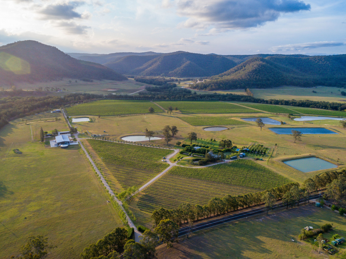 KRINKLEWOOD BIODYNAMIC VINEYARD - The most beautiful vineyard estate in NSW.